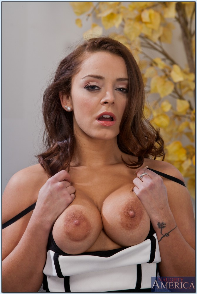 image Horny liza del sierra sucks and rides a fat dick