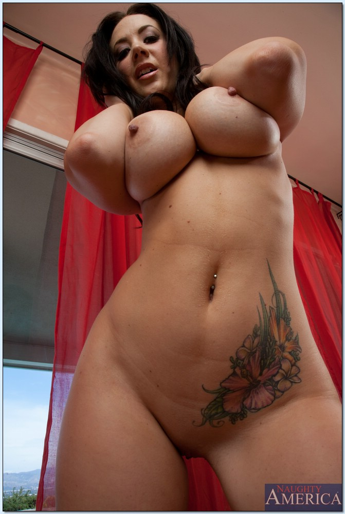 Big tits tatto
